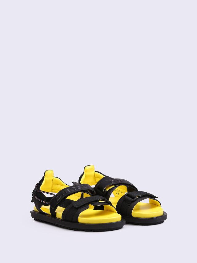 SA-BERLIN SAND FSS, Black/yellow fluo