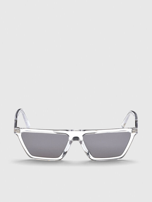 Diesel - DL0304, White - Sunglasses - Image 1