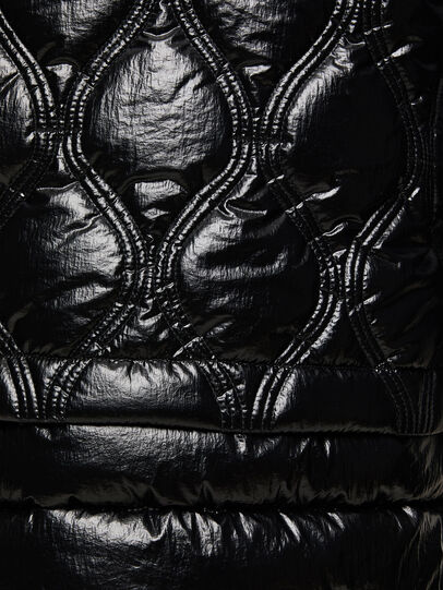 Diesel - W-CRAWFORD-SHINY, Black - Winter Jackets - Image 5