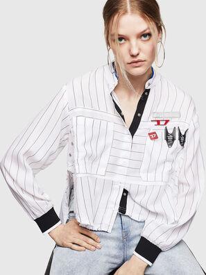 C-SUPER-D, White - Shirts