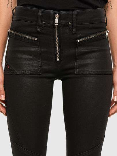 Diesel - Slandy 069JT, Black/Dark grey - Jeans - Image 4
