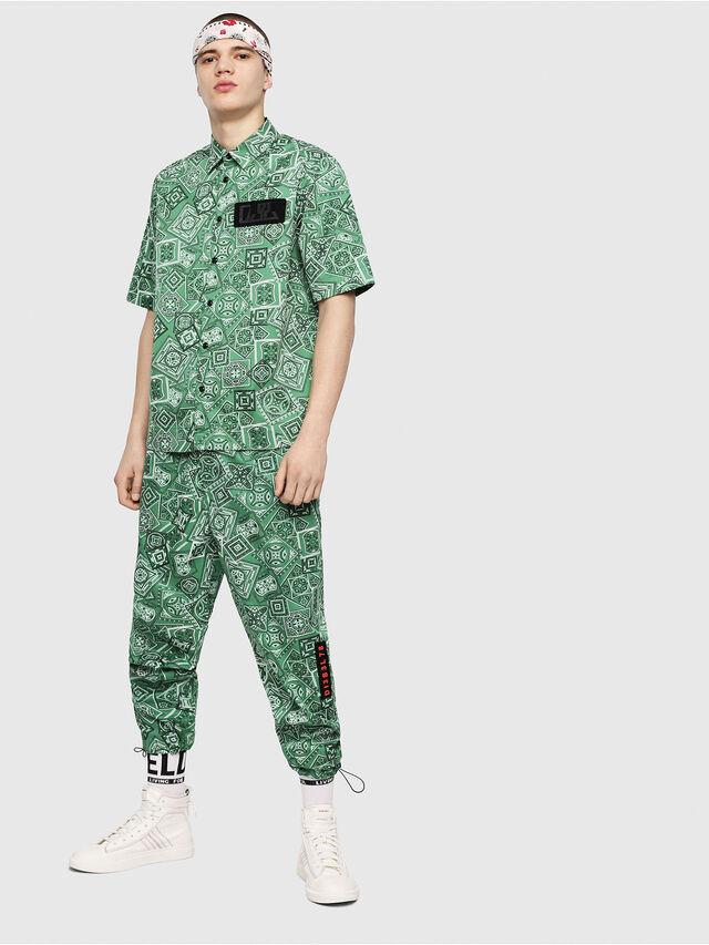 Diesel - P-TOLLER-NP, Green - Pants - Image 4