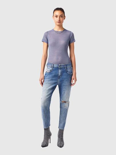 Diesel - Fayza 09B16, Light Blue - Jeans - Image 5