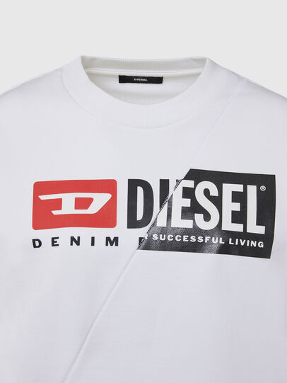 Diesel - F-ANG-CUTY, White - Sweaters - Image 3
