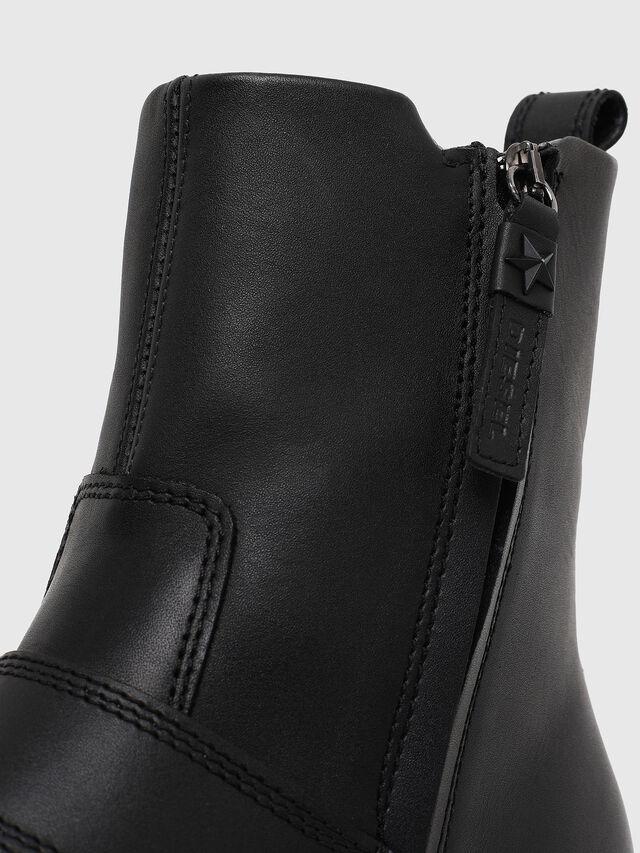 Diesel - D-JACK BELTED, Black - Boots - Image 4