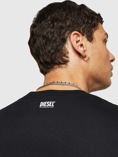 Diesel - T-JUST-B27, Black - T-Shirts - Image 3