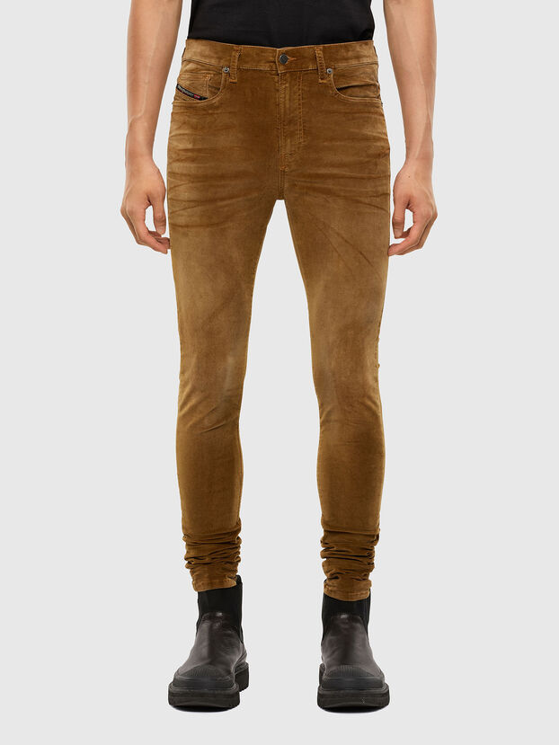 D-Amny 069PS, Light Brown - Jeans