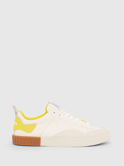 Diesel - S-BULLY LC, White/Yellow - Sneakers - Image 1