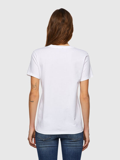 Diesel - T-SILY-B3, White - T-Shirts - Image 2