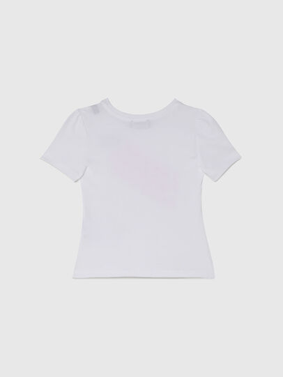 Diesel - TLOPPIB-R, White - T-shirts and Tops - Image 2