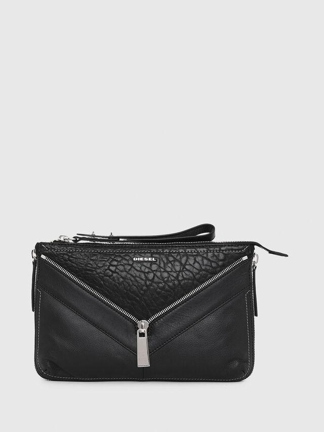 Diesel LE-LITTSYY, Black Leather - Clutches - Image 1
