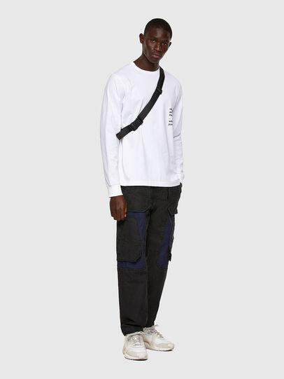 Diesel - D-Eluxerr JoggJeans® 0DDAV, Black/Dark grey - Jeans - Image 6