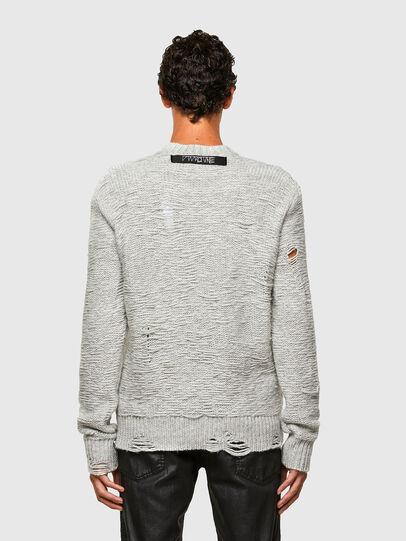 Diesel - K-JOSH, Light Grey - Knitwear - Image 2