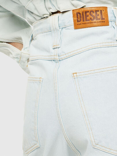 Diesel - DE-PLATA-R, Light Blue - Pants - Image 3