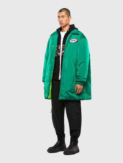 Diesel - W-KODYN, Green - Winter Jackets - Image 7