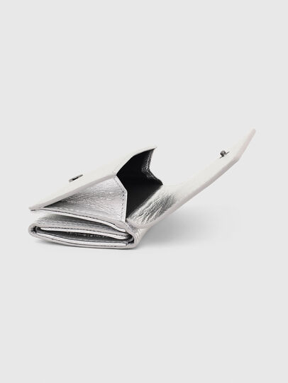 Diesel - LORETTINA, Silver - Small Wallets - Image 7