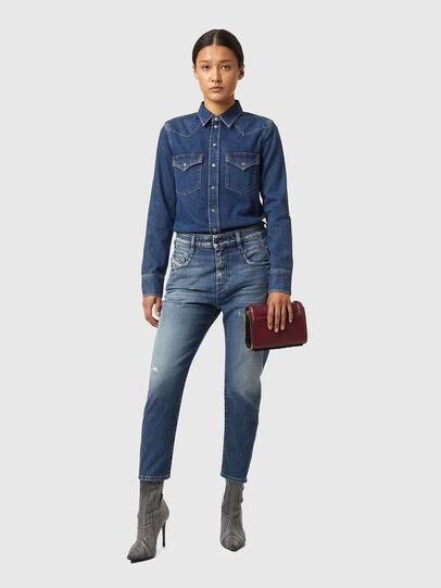 Diesel - Fayza 09A54, Medium blue - Jeans - Image 4
