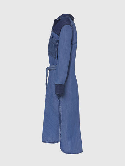 Diesel - DE-NIAVY, Light Blue - Dresses - Image 3