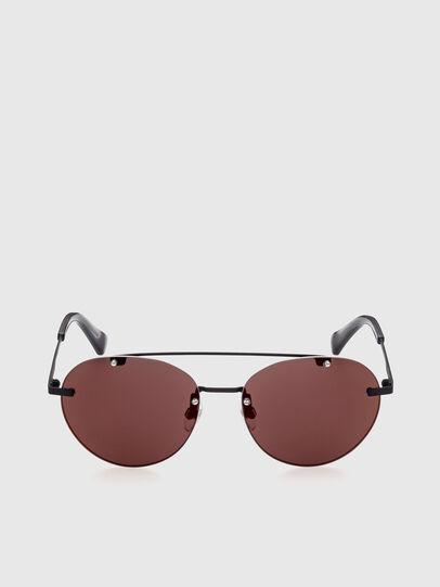 Diesel - DL0351, Black/Red - Sunglasses - Image 1