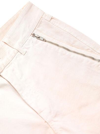 Diesel - GR02-P303, White - Shorts - Image 4