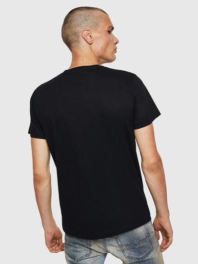 Diesel - T-DIEGO-BX1, Black - T-Shirts - Image 2