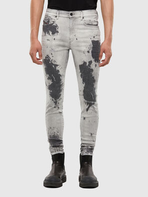 D-Amny 009GM, Light Grey - Jeans