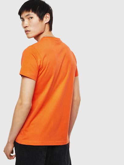 Diesel - T-DIEGO-S1, Orange - T-Shirts - Image 2