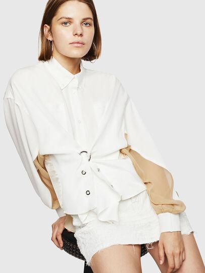 Diesel - C-LEXYS, White - Shirts - Image 4