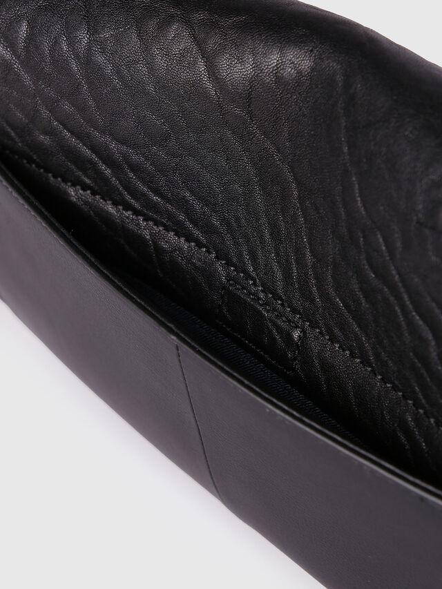 Diesel - LE-MISHA, Black Leather - Crossbody Bags - Image 4