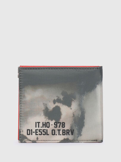 Diesel - HIRESH S SP, Grey/Orange - Small Wallets - Image 2