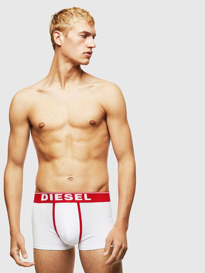 Diesel - UMBX-DAMIENTHREEPACK, White/Red - Trunks - Image 2