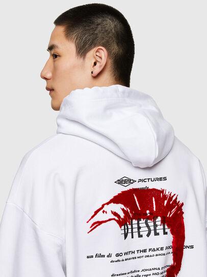 Diesel - S-UMMERIB-E2, White - Sweaters - Image 4