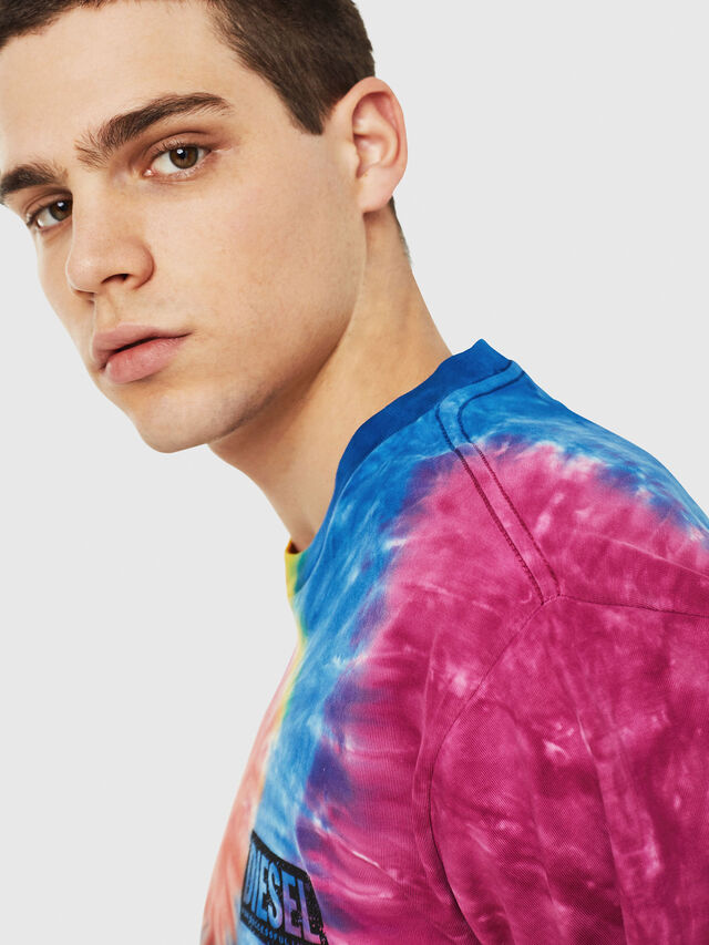 Diesel - DXF-T-JUST-1, Multicolor - T-Shirts - Image 3