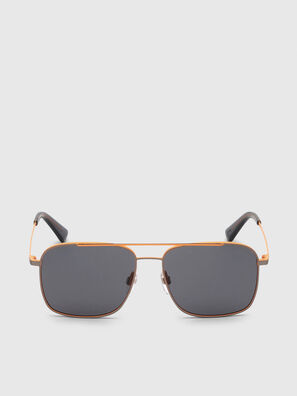 DL0295, Orange/Black - Sunglasses