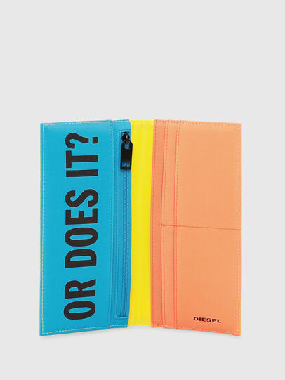 Diesel - TRAVELLET, Yellow - Continental Wallets - Image 3