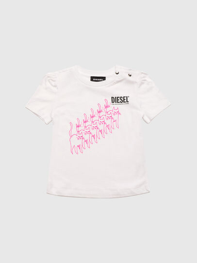 Diesel - TLOPPIB, White - T-shirts and Tops - Image 1