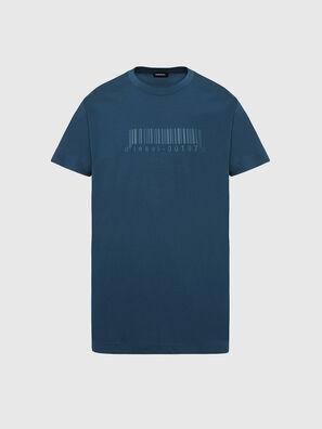 T-JUST-SLITS-X87, Water Green - T-Shirts