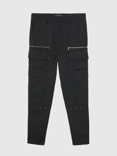 Diesel - P-CAR-ANT, Black - Pants - Image 1