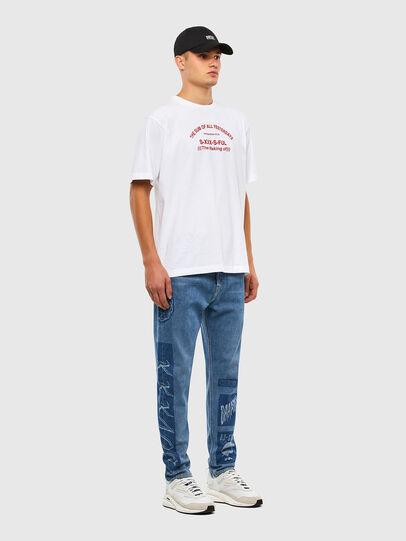 Diesel - D-Vider 009GD, Medium blue - Jeans - Image 7