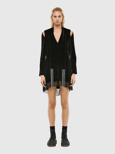 Diesel - D-LABIN, Black - Dresses - Image 1