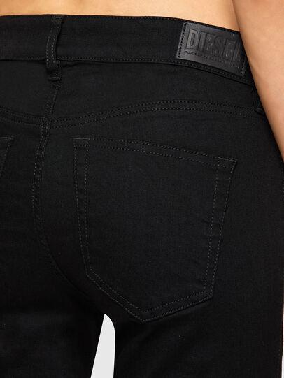 Diesel - Slandy 069EF, Black/Dark grey - Jeans - Image 4