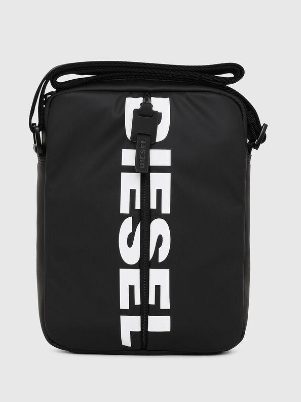 F-BOLD SMALL CROSS, Black - Crossbody Bags