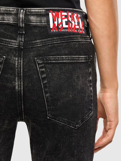 Diesel - Babhila 009FH, Black/Dark grey - Jeans - Image 4