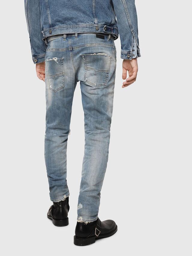 Diesel - Krooley JoggJeans 087AE, Light Blue - Jeans - Image 2