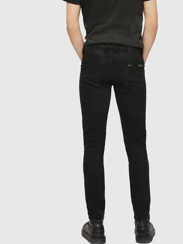 Diesel - Thommer 0090N, Black/Dark grey - Jeans - Image 3