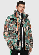 J-TOUCHA-CAMOU, Green Camouflage - Jackets