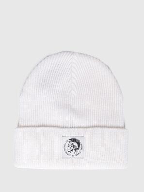 K-CODER, White - Knit caps