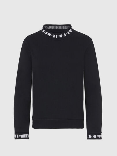Diesel - UFLT-SWELLY, Black - Sweaters - Image 1