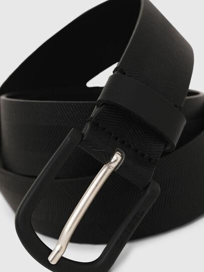 Diesel - B-SPIGA, Black - Belts - Image 2