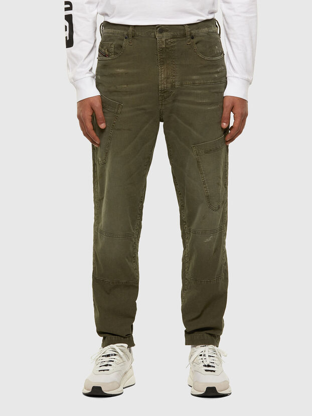 D-Azzer JoggJeans 069NF, Military Green - Jeans